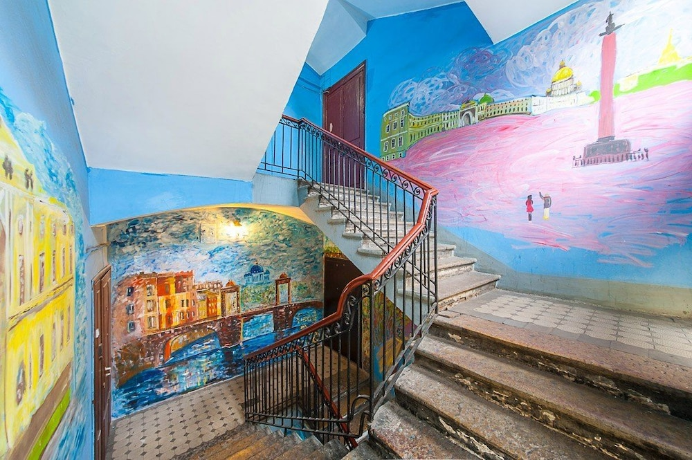 Staircase, Hostel Good day