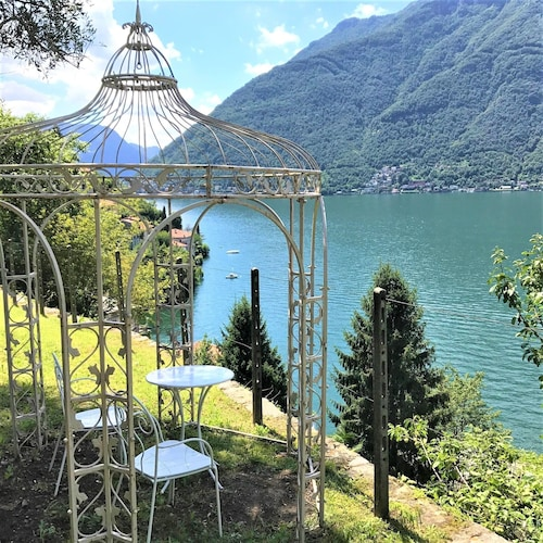 Appartement Breva + Paradiesgarten on the Shore of Lake Como