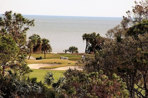 3 Bed,2 Bth,ocean & Golf Course View From Balcony, Wash/dryer IN Villa, Sleeps 8