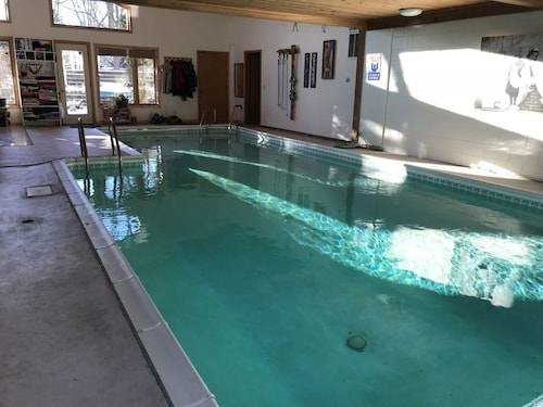 Great Place to stay Superbowl: Stunning Modern Home w/ Private Heated Indoor Pool in Nature Paradise near Minnetonka