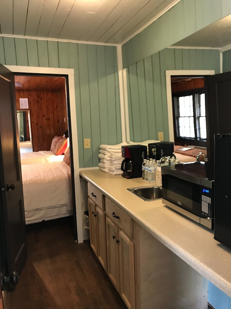 Private Kitchenette, The Riverside Lodge at Chimney Rock