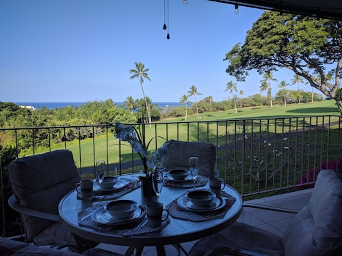 Awesome Ocean Views & Breathtaking Sunsets On The Kona Country Club Golf Course