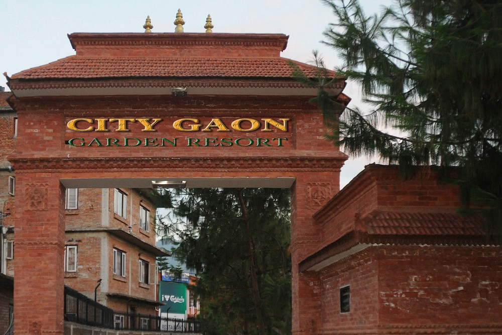 Front of Property, City Gaon Resort
