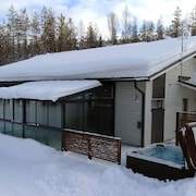 Modern Villa Lumikko With Outdoor hot tub