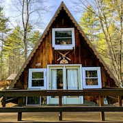 A-frame Camp in the White Mountains!