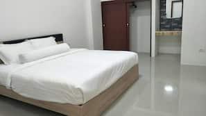 2 間臥室、窗簾、免費 Wi-Fi