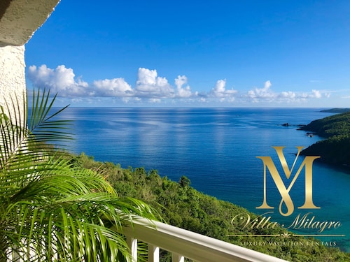 Brand New! Luxury Villa Milagro, Private Beach Views!