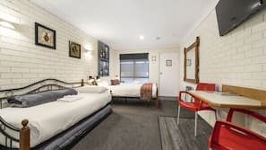 Minibar, iron/ironing board, free cots/infant beds, free WiFi