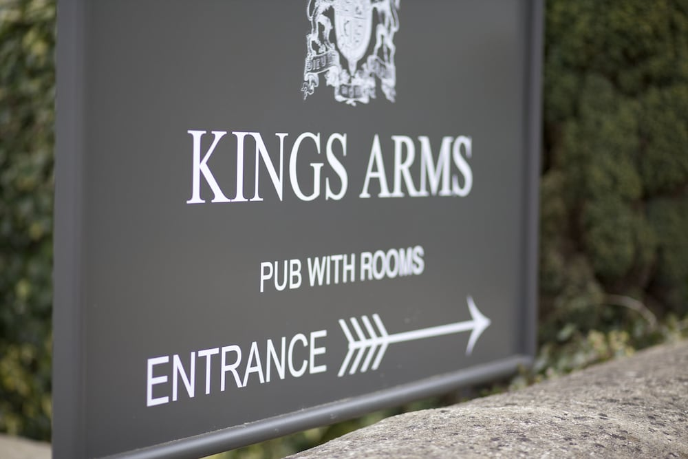 Exterior detail, The Kings Arms