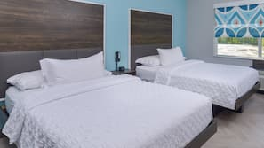 In-room safe, blackout drapes, free WiFi, bed sheets