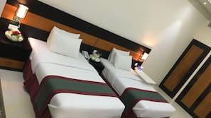 Coffres-forts dans les chambres, chambres insonorisées