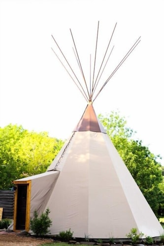 the Guadalupe - Tipi 4 Red Cloud