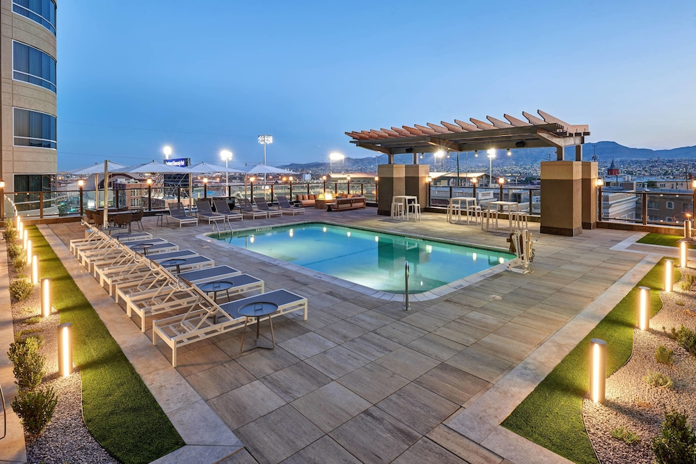 Sports Facility, Courtyard by Marriott El Paso Downtown/Convention Center