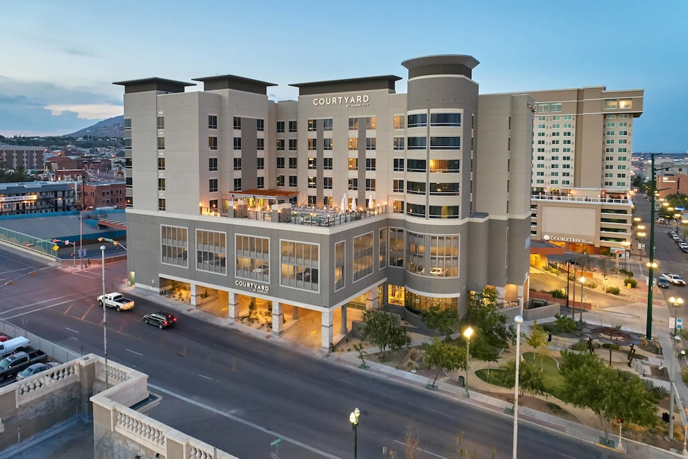Exterior, Courtyard by Marriott El Paso Downtown/Convention Center