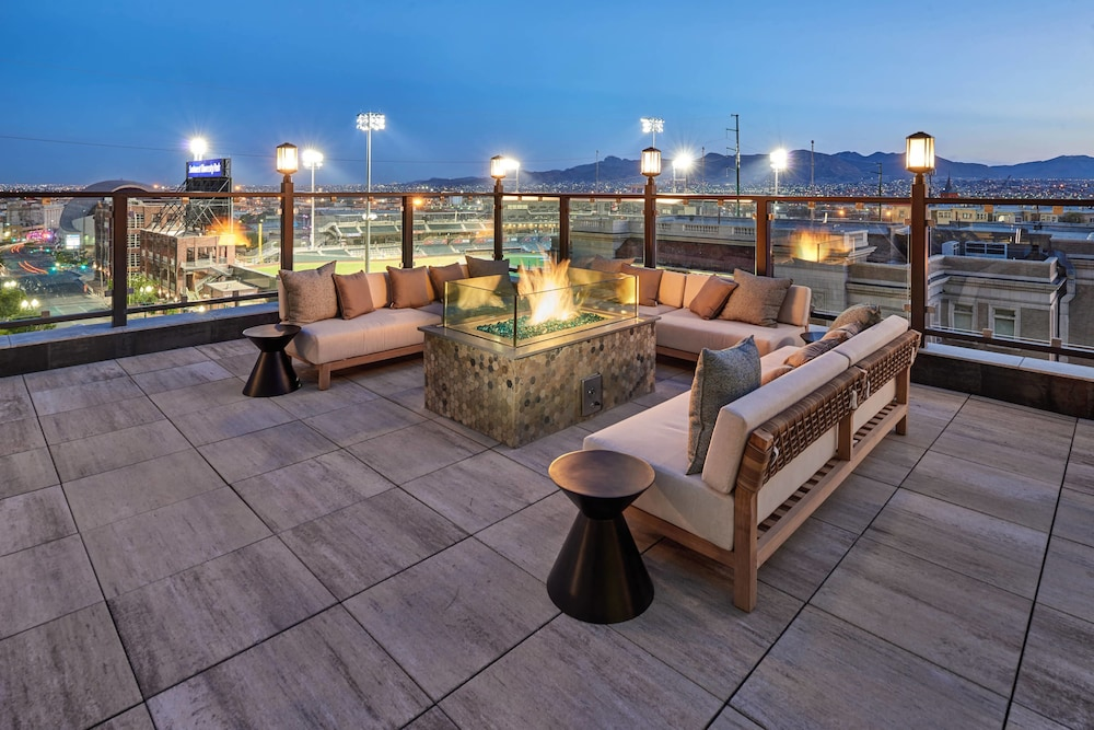 Sundeck, Courtyard by Marriott El Paso Downtown/Convention Center