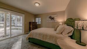 4 quartos, acesso à internet, roupa de cama