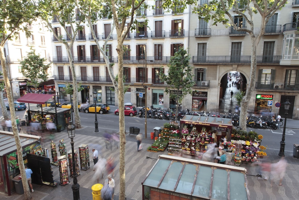 View from Room, Apartments Rambla 102