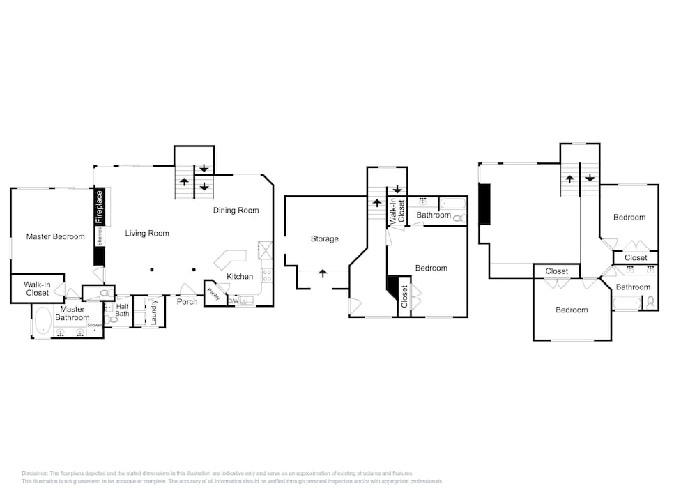 Floor plan, 8437 Pointe Dr Home