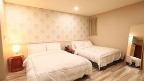 高档床上用品、遮光窗帘、免费 WiFi