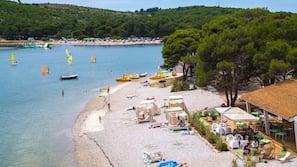Sulla spiaggia, snorkeling, windsurf, yoga