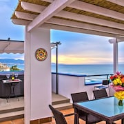 A Spectacular 3 Bedroom Duplex Penthouse On the Beach Front of Peñoncillo Beach