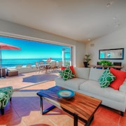Beautiful Immaculate Oceanfront Home on Private Beach