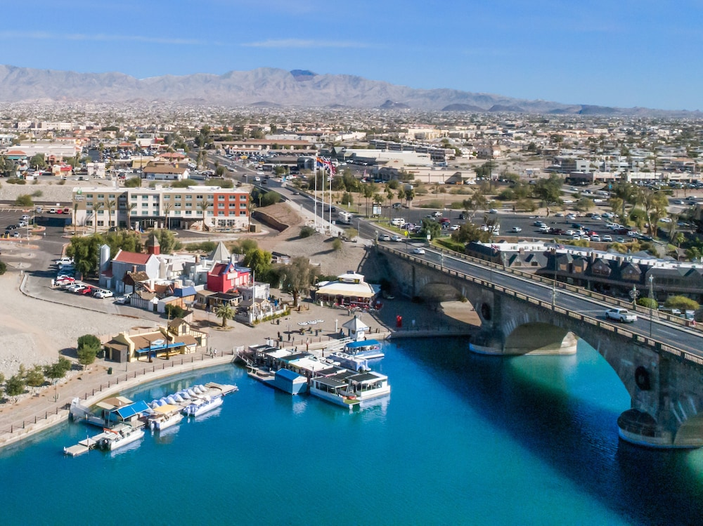 Aerial View, Holiday Inn Express And Suites Lake Havasu - London Bridge, an IHG Hotel