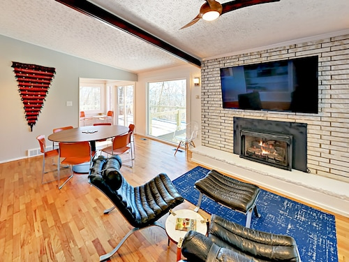Check Expedia for Availability of Fully-renovated 4BR Home w/ Mountain Views & Indoor/outdoor Living