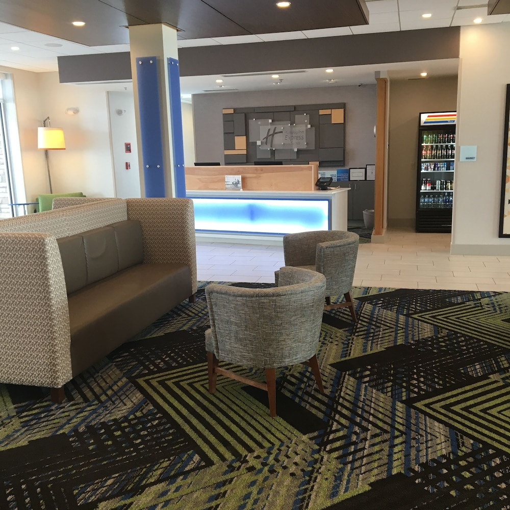 Reception, Holiday Inn Express and Suites Nebraska City, an IHG Hotel