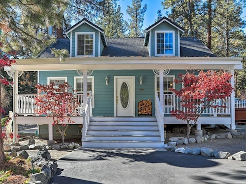 New 2br Loft Wrightwood Home W Porch Hot Tub