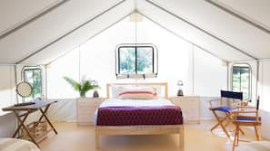Premium bedding, down comforters, rollaway beds, free WiFi