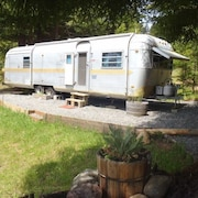 Airstream in the Redwoods, Near River and Beaches