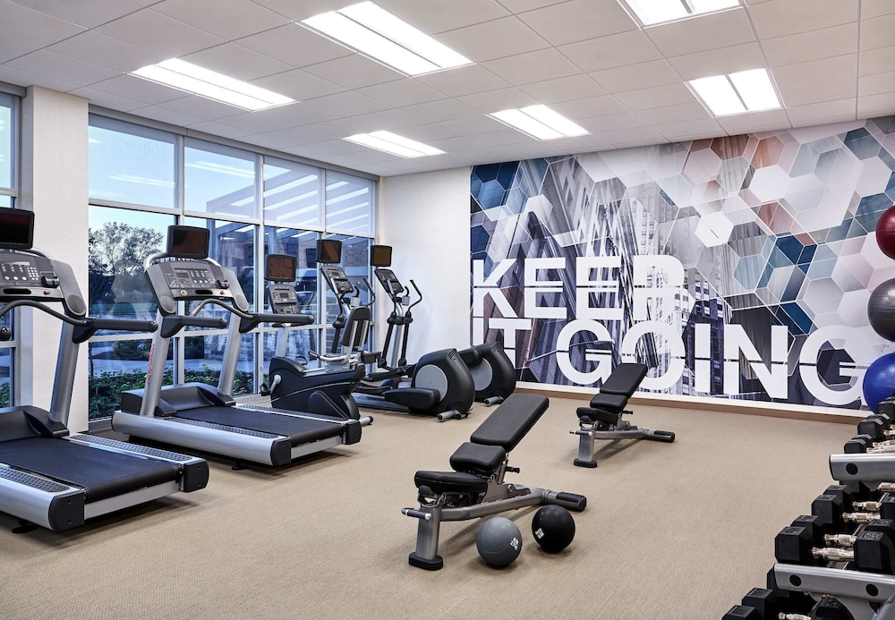 Fitness Facility, SpringHill Suites by Marriott Albuquerque North/Journal Center