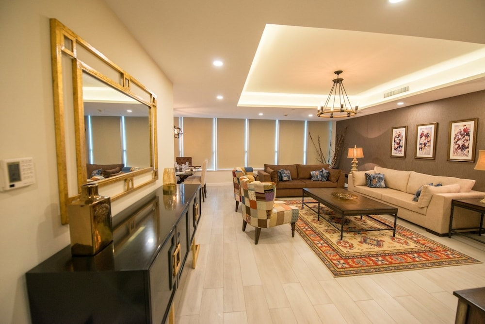 Living Area, The Centaurus Serviced Apartments