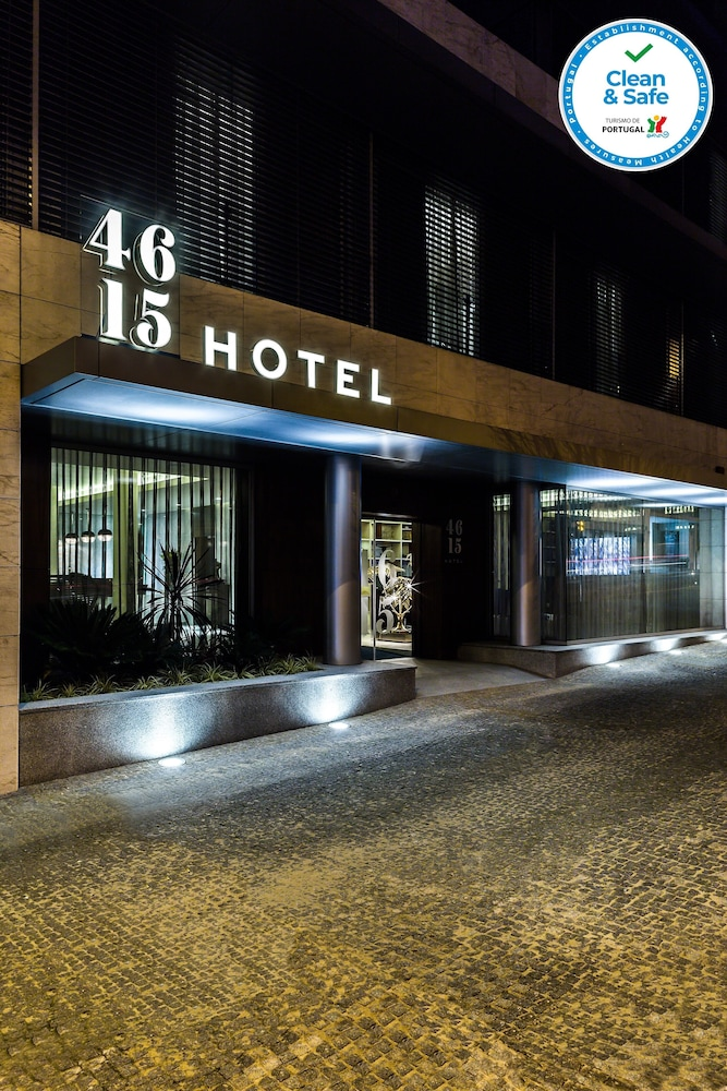 Front of Property - Evening/Night, 4615 Hotel