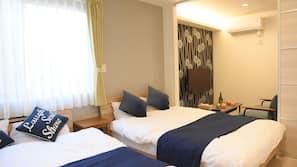 1 間臥室、書桌、免費 Wi-Fi、床單