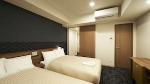 1 bedroom, laptop workspace, blackout drapes, soundproofing