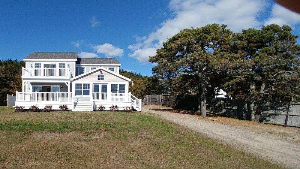 Room, Driftwood Oceanfront Cottage at Popham Beach Spectacular Views From Every Room
