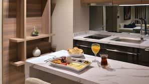 Kühlschrank, Wasserkocher