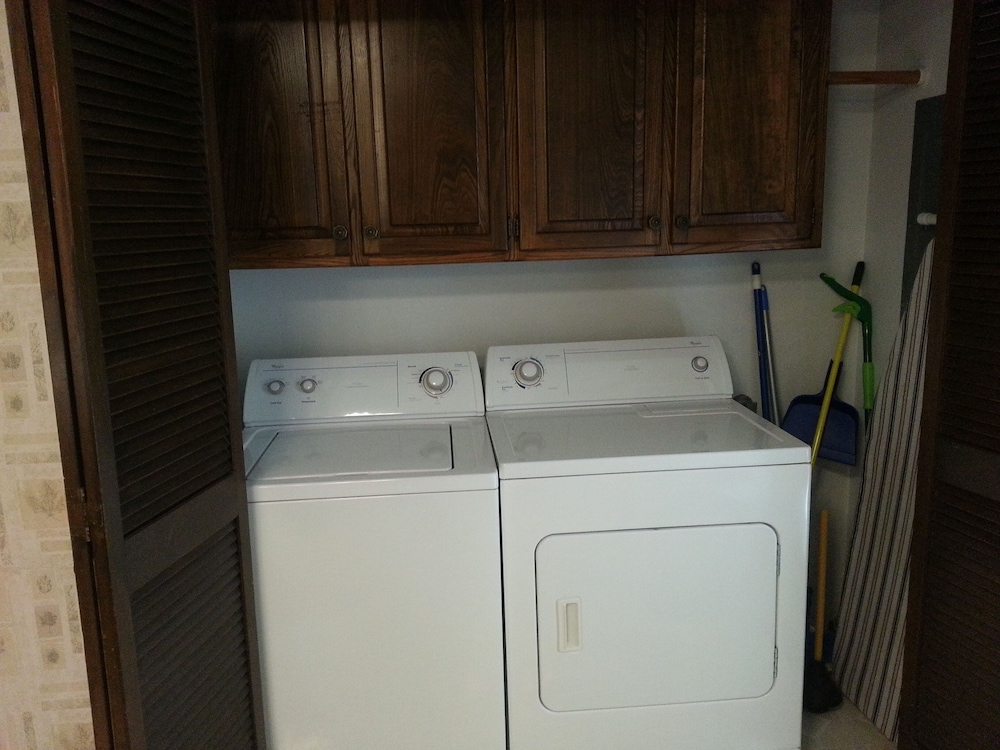 Laundry Room, One of Nwarkansas Travel Guides Top 10 Best Vacation Rentals in Bella Vista, AR