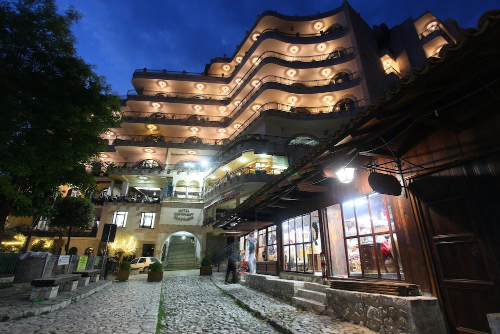 Front of Property - Evening/Night, Hotel Panorama Kruje