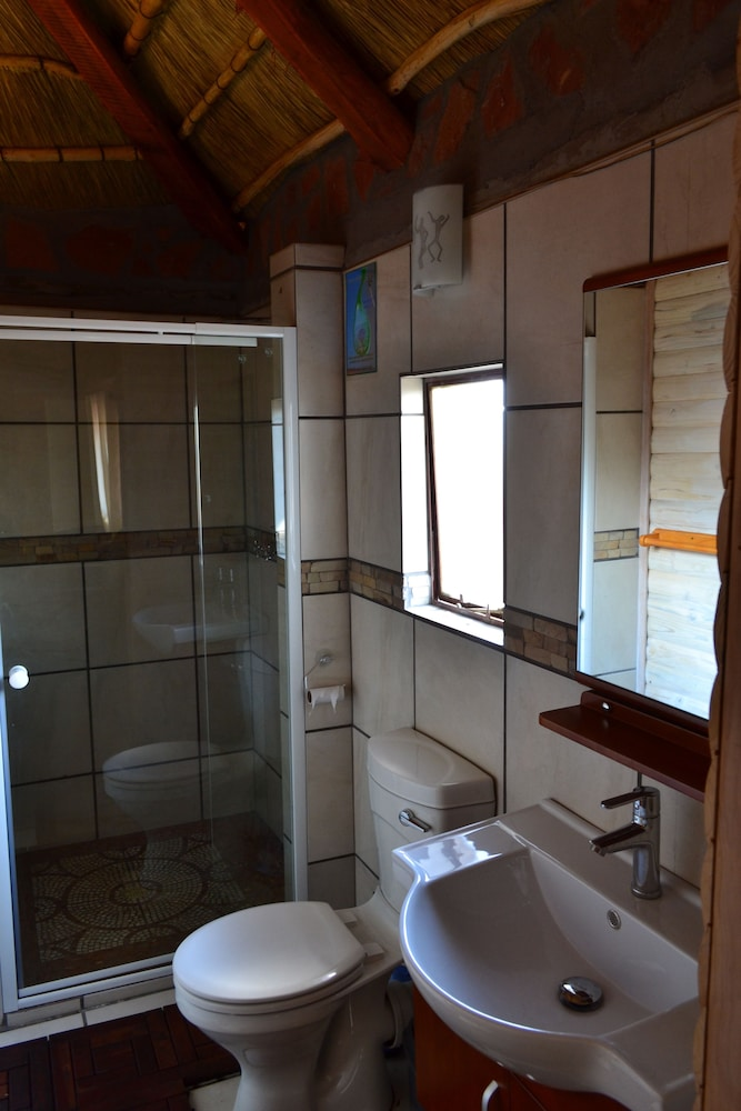 Bathroom, Namib's Valley Lodge