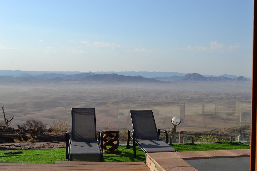 View from Property, Namib's Valley Lodge