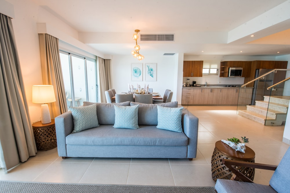 Living Room, Presidential Suites Lifestyle Cabarete - All Inclusive
