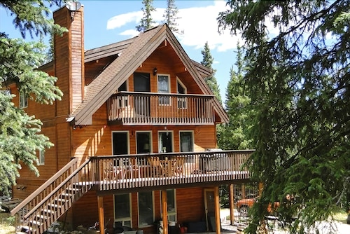 Check Expedia for Availability of Whispering Pines Chalet 3 Bedrooms 3 Bathrooms Cabin