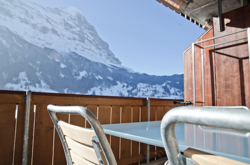 Balcony, Apartment Matterhorn by GriwaRent