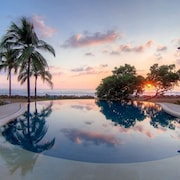 Beautiful, new Beachfront Villa-saltwater Pool, Gardens, Directly on the Ocean!