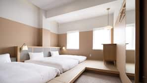 ห้องเก็บเสียง, เตารีด/โต๊ะรีดผ้า, บริการ WiFi ฟรี, ผ้าปูที่นอน