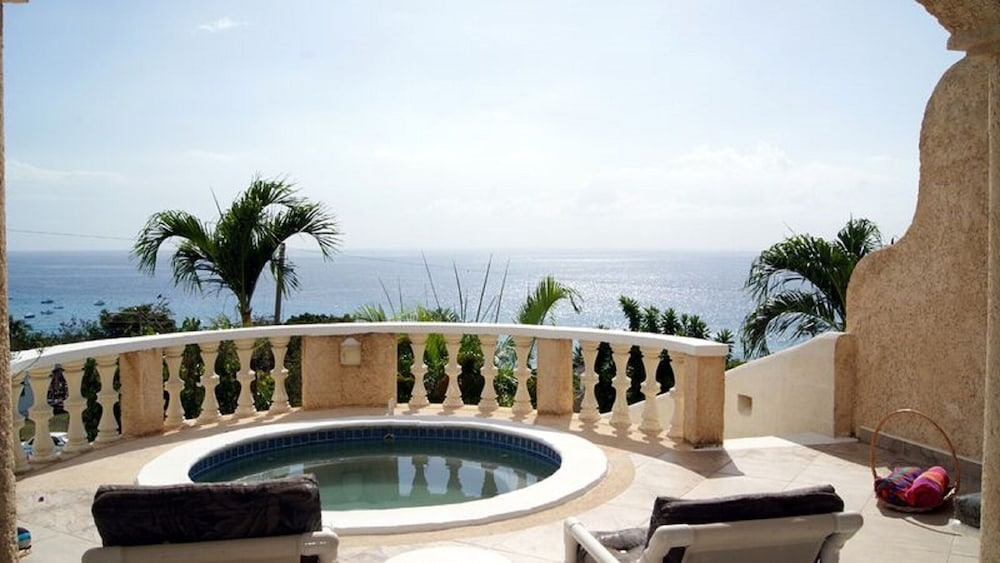 , Barbados villa near beach -- the view,2 pools, WiFi, daily staff