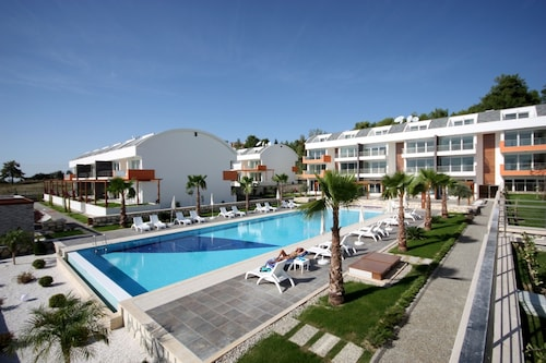 Apartment With 2 Bedrooms in Ilıca Manavgat, With Pool Access, Furnished Garden and Wifi - 8 km From the Beach
